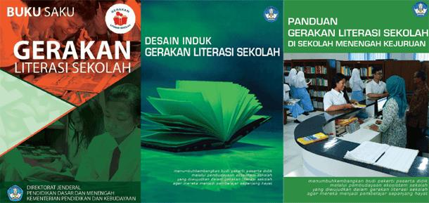 Buku Saku Gerakan Literasi Sekolah Ditjen Dikdasmen Kemendikbud, Desain Induk Gerakan Literasi Sekolah dan Panduan Gerakan Literasi Sekolah di SMK