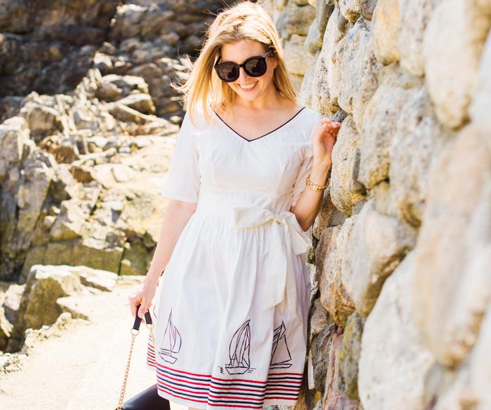 New England fashion blogger