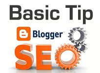 Blogger Blogspot Basic SEO Tip