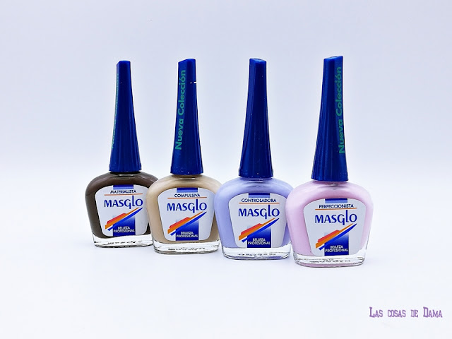 Colección Disorder Masglo uñas nailpolish beauty otoño nails manos
