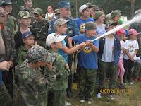 Сухой Лог, 117 ПСЧ,профилактика в летних лагерях, мероприятия с детьми