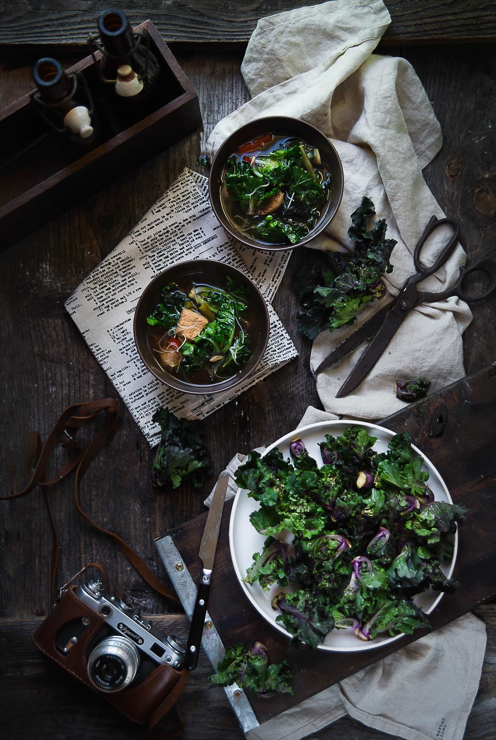 Zupa w stylu azjatyckim z kalerosse™