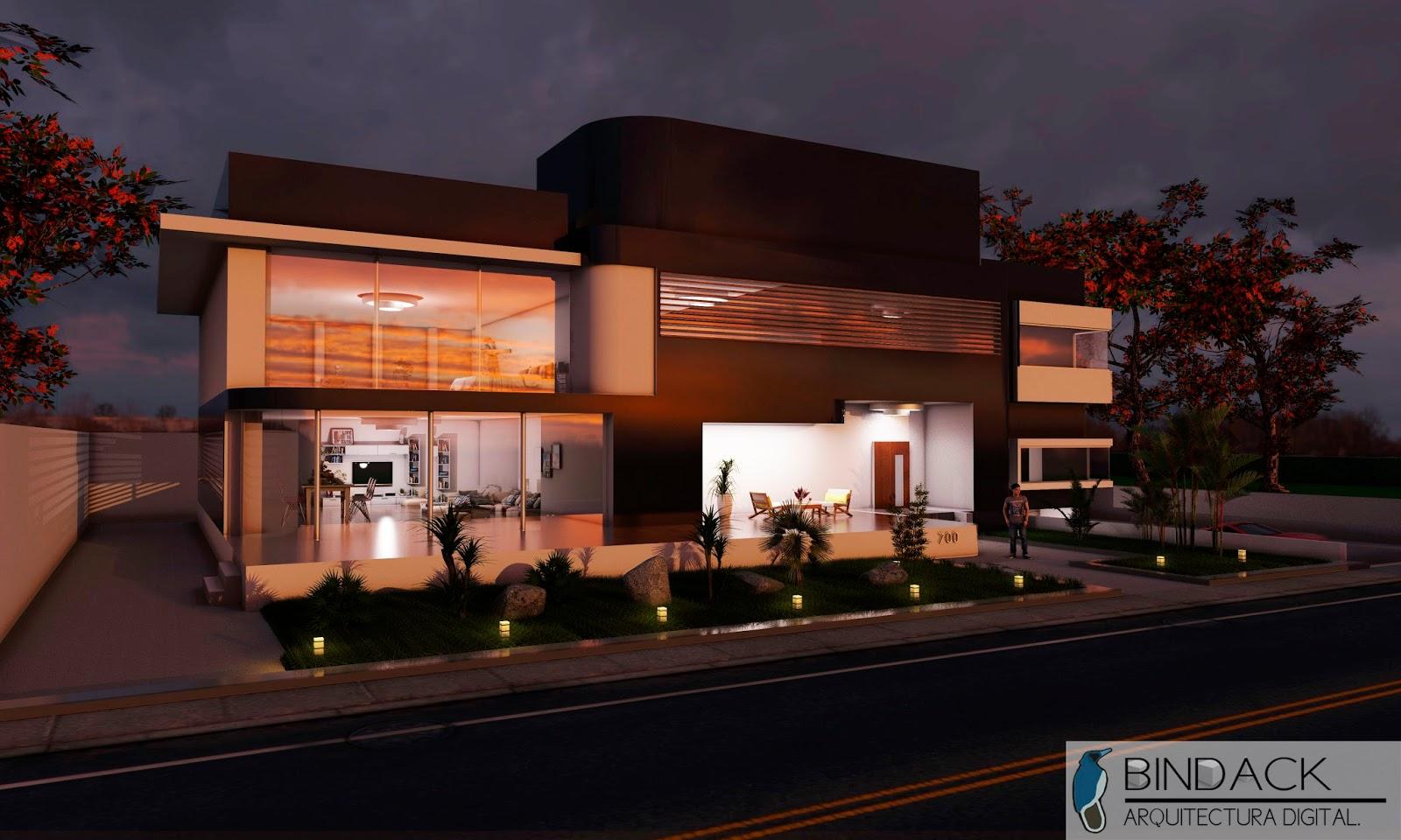 Bindack Arquitectura Digital Portafolio Casa S Bado