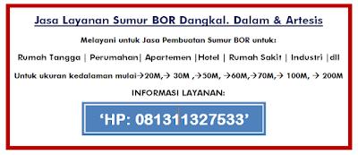 081311327533 |Jasa Gali Sumur Bor Tangerang dan Sekitar nya