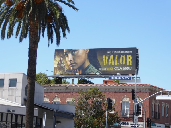 Valor series premiere billboard