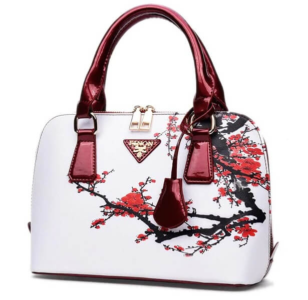 Floral Printed Handbag