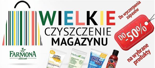 Farmona Czyszczenie magazynu - 50%