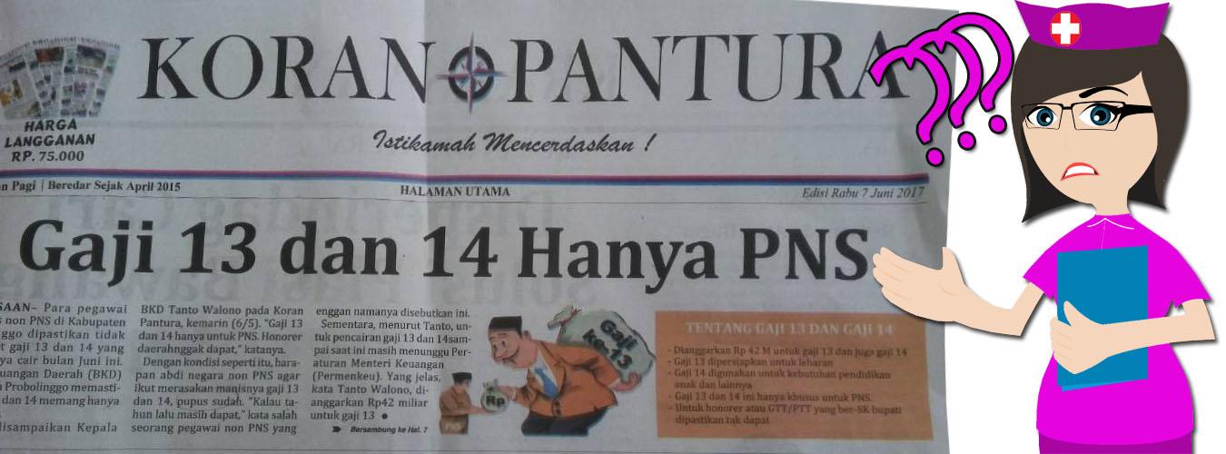 Gaji 13 dan Gaji 14 Tahun ini Hanya Untuk PNS, Aneh...