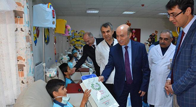 Dicle Üniversitesi Çocuk Kemoterapi Ünitesi hizmete açıldı