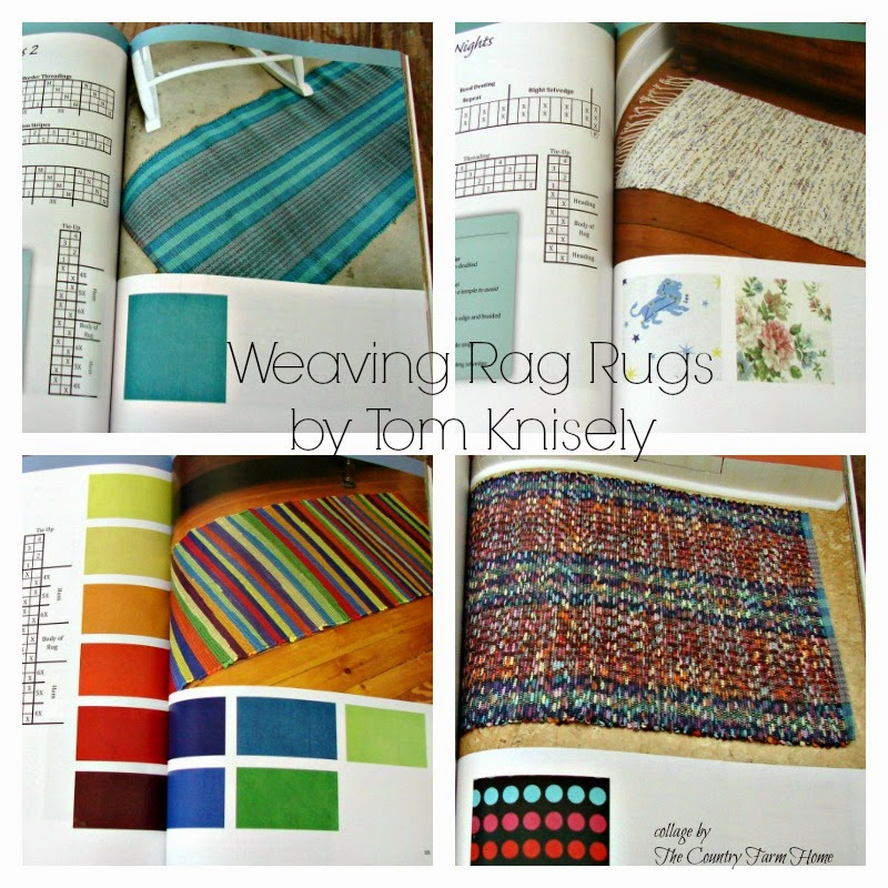 The Country Farm Home: Hot Off The Press: 'Weaving Rag