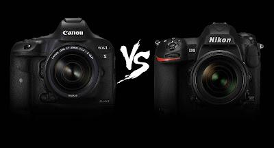 Nikon DSLR, Canon DSLR, Canon vs Nikon, Nikon vs Canon, Nikon D5 vs Canon EOS 1DX Mark II, Canon full-frame, Nikon Full-frame, DSLR camera,