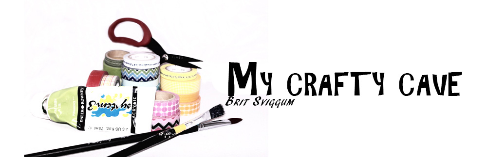 My crafty cave - Brit Sviggum
