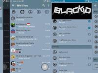 Update BBM MOD BLACK BLUE GRAY V3.0.1.25 Terbaru dan Terkeren 2016