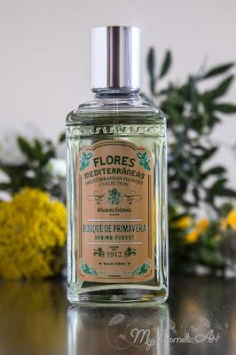 Flores Mediterránes, la nueva colección de fragancias de Alvarez Gómez