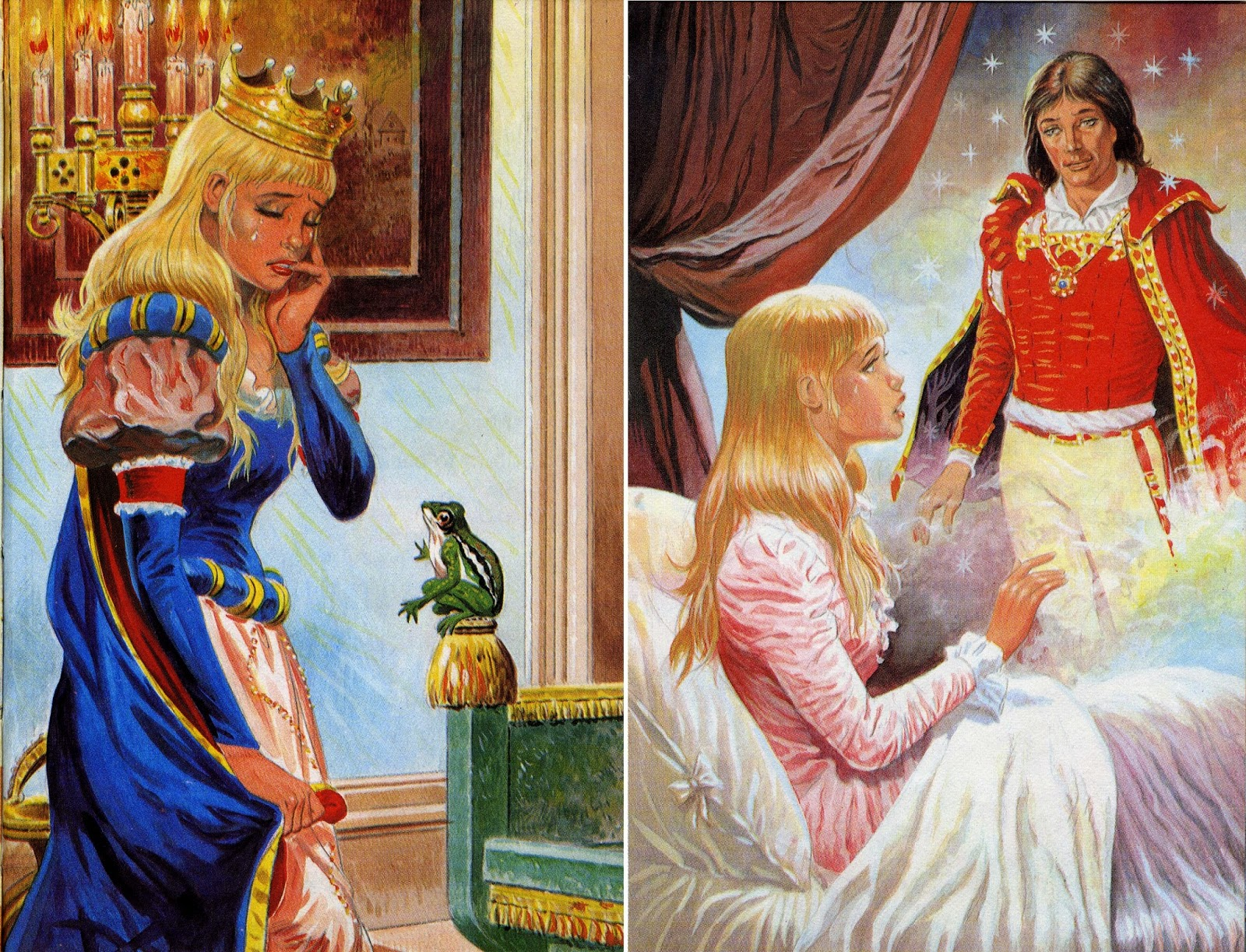 Bear Alley Mario Capaldi  The Princess and the Frog Ladybird 1973