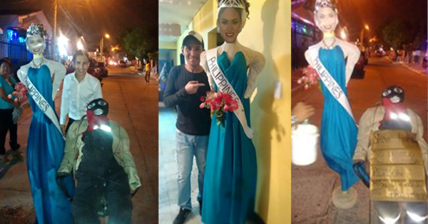 Controversial: Colombian Burns Down Pia Wurtzbach's Effigy
