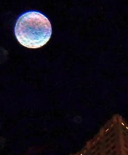 purple blue orb