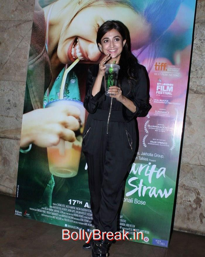 Monali Thakur, Kalki Koechlin, Sridevi Hot Pics At 'Margarita With A Straw' Special Screening
