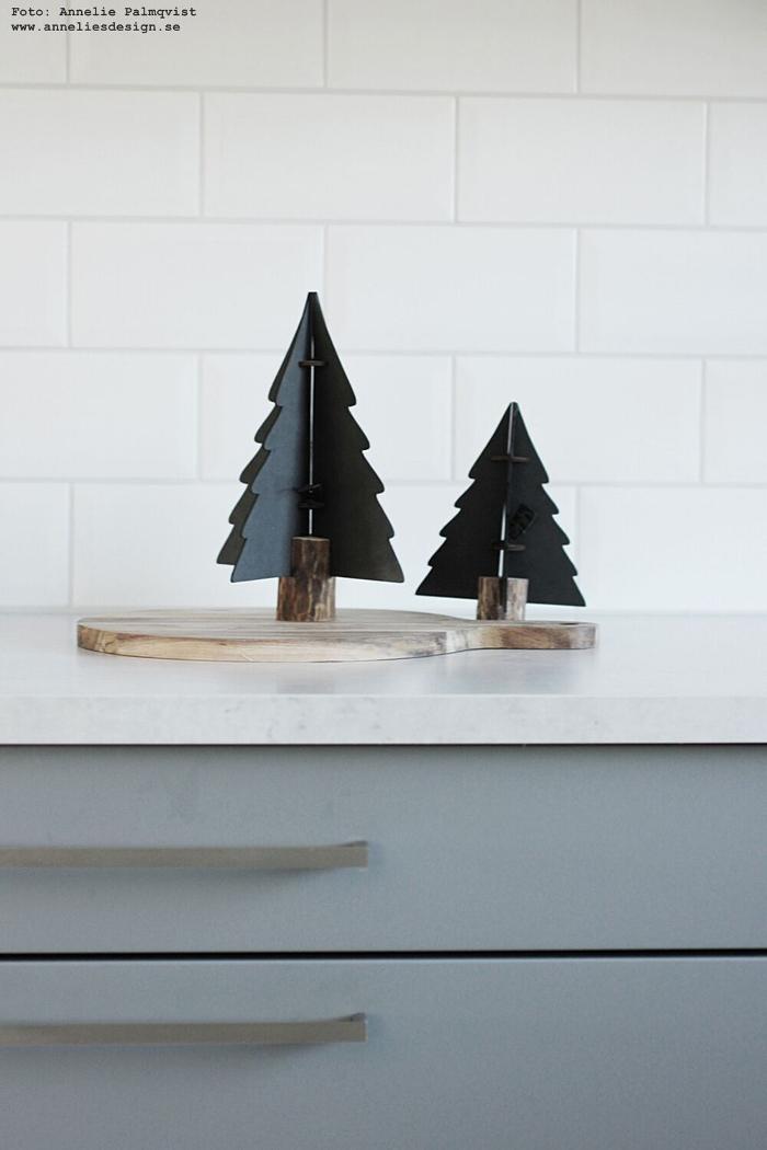 annelies design, Oohh, gran, granar, jul, julpynt, inredning, advent, julen 2017, kök