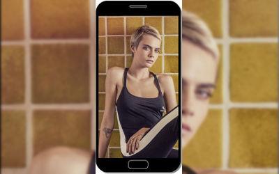 Cara Delevingne Mannequin Cheveux Courts - Fond d'Écran en QHD pour Mobile
