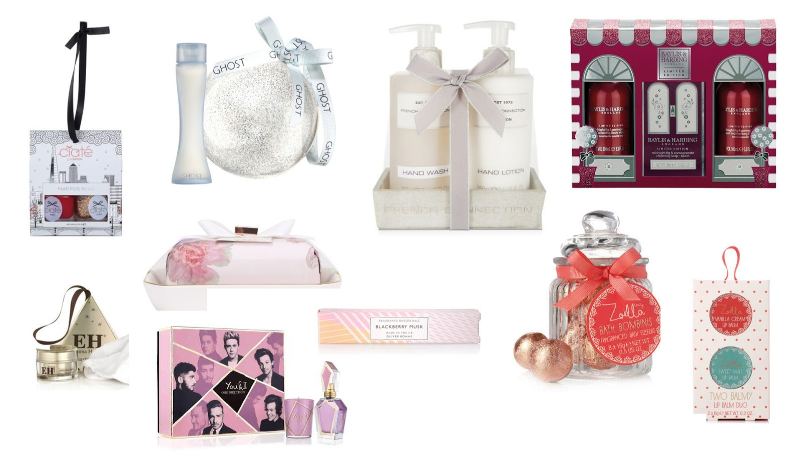 2015 Beauty Christmas Gift Guide Under £10