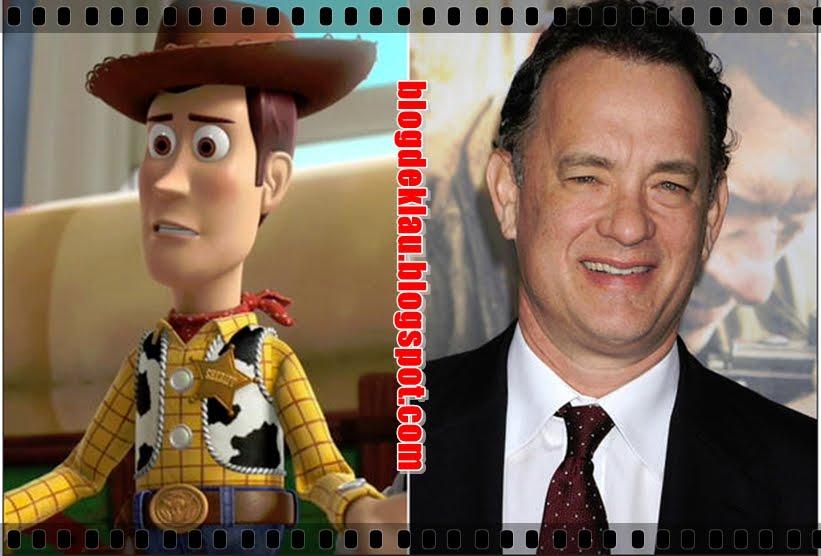O cowboy Woody e Tom Hanks 0f17677a113