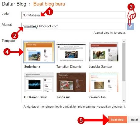 Cara Terbaru Membuat Blog
