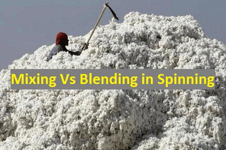 Mixing Vs Blending in Spinning