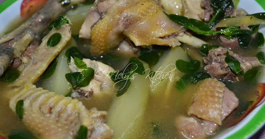 Mely's kitchen: Native Chicken Tinola