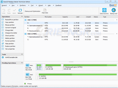 EaseUS Partition Master Pro 12.0 Full Version