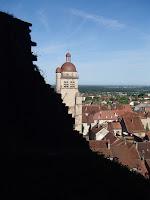 Poligny depuis le chateau de Grimmont