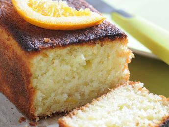Cake à l'orange pour le petit déjeuner