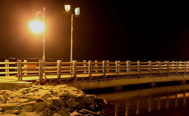 Jembatan Ancol kini yang sudah dirombak dan diperbaharui sehingga nampak lebih bagus