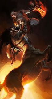 Centauros. God of War.