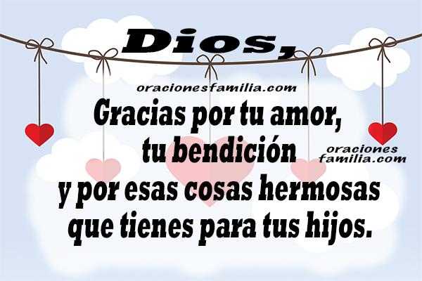 Oración corta de la mañana, frases con oraciones para decirlas este día,   imágenes de oración, texto por Mery Bracho