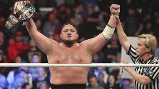 WWE - Samoa Joe se cuelga su primer cinturón en Smackdown, el United States Championship