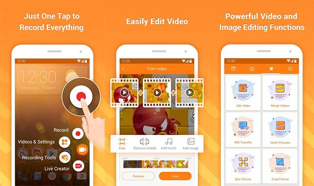 DU Recorder - Aplikasi Perekam Layar HP Android