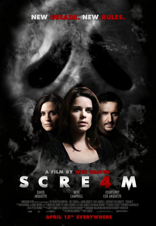 A Pagan's Life (For Me): Review - Scream 4 - C-