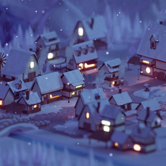 Winter Wonder Wallpaper Engine