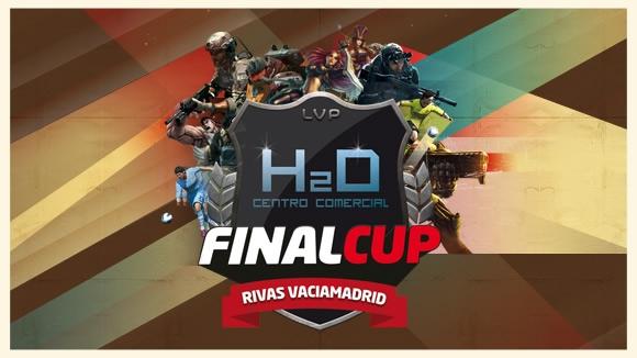 Final Cup. Final nacional de la liga de videojuegos en H2O Centro Comercial de Rivas Vaciamadrid.