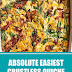 Absolute Easiest Crustless Quiche