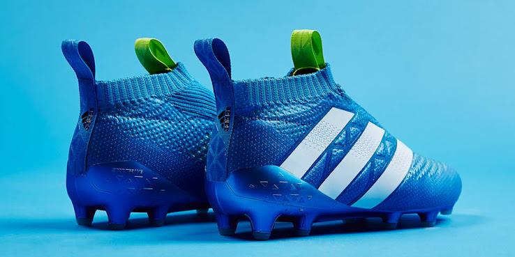 promo code b90df 12989 Giày Adidas Ace 16+ PureControl màu xanh