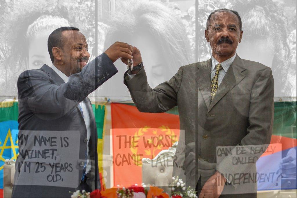 Afewerki e Ahmed, stretta di mano più campagna anti-repressione