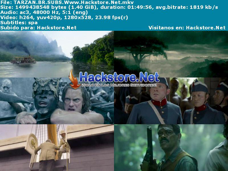 Capturas de La Leyenda de Tarzán (2016) Blu-Ray RIP HD Subtitulada
