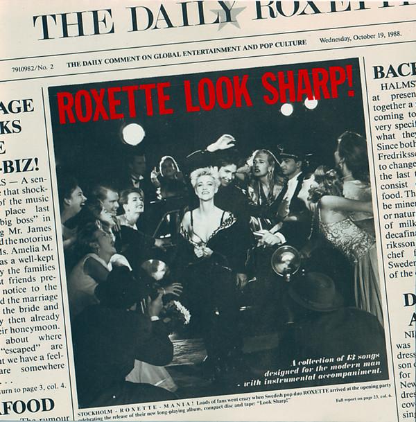 Sucessos De Sempre Roxette Look Sharp
