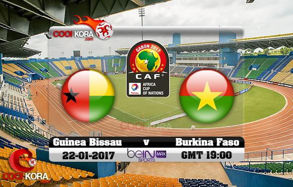 مشاهدة مباراة غينيا بيساو وبوركينا فاسو اليوم كأس أمم أفريقيا 22-1-2017 علي بي أن ماكس