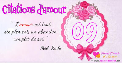 Plus de citations et de proverbes sur l'Amour