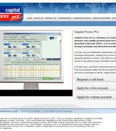 Forex capital market llc london
