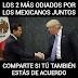 """Trump dice que la renuncia de Videgaray es prueba de su """"éxito"""" en México"""