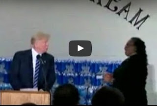 Pastor Cuts Off Donald Trump's Speech After He Tried to Criticise Hillary Clinton in Church (Watch Video)